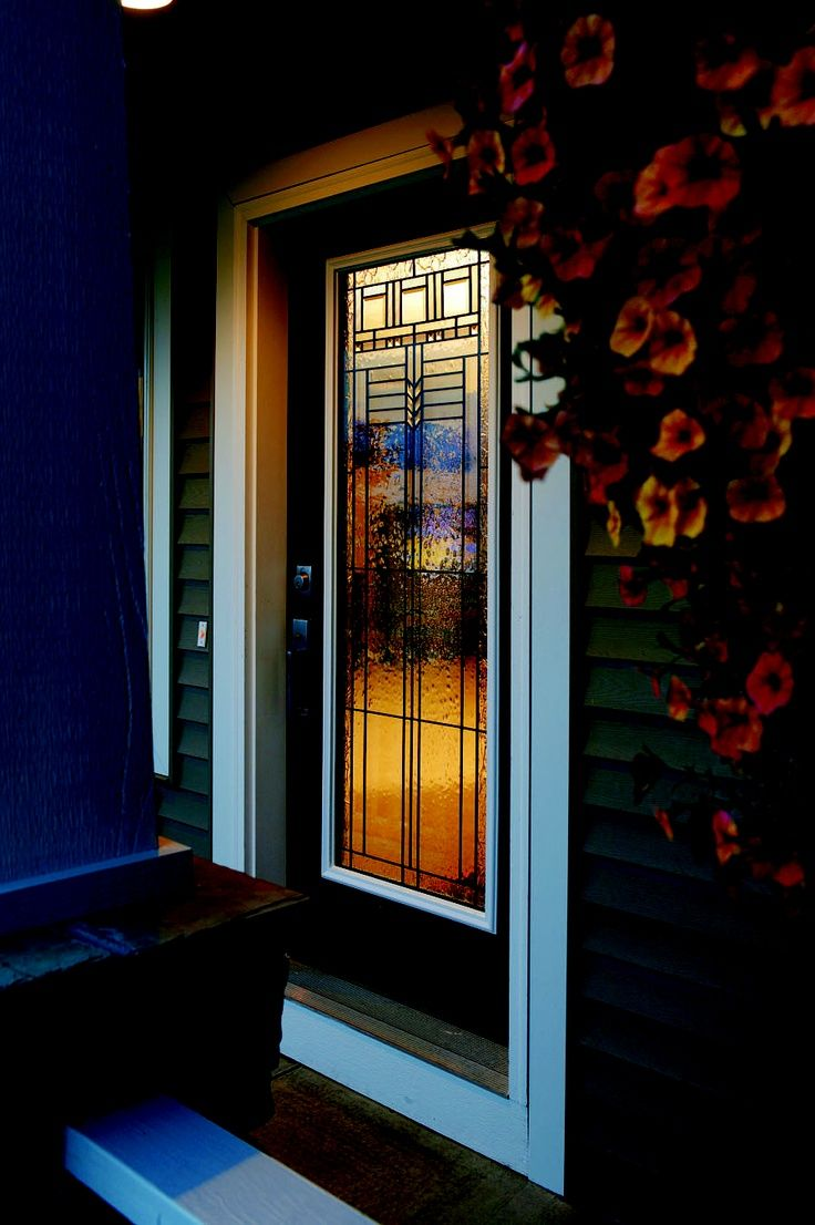 Our Outside Salesman, John B., Loves Exterior Doors From Waudena Millwork.  They