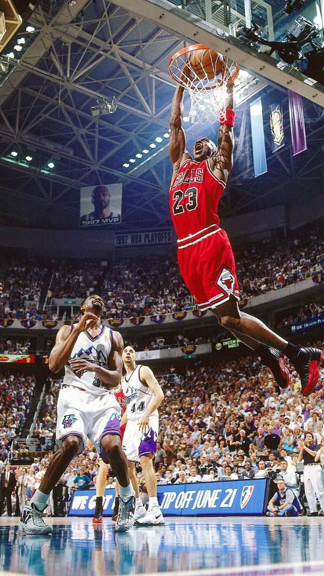 Air Jordan Slam Dunk Chicago Bulls Android Iphone Wallpaper Background Lockscreen Hd Check More At Https P Michael Jordan Basketball Michael Jordan Slam Dunk
