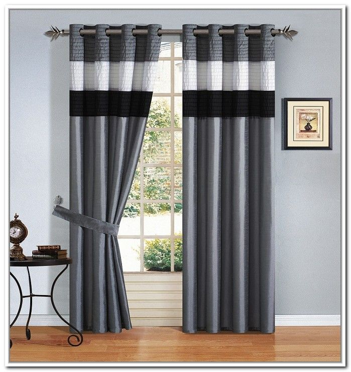 Advantages Of Black And White Curtains Designalls In 2020 White Curtains Curtains Cool Curtains