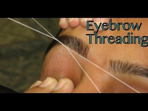 EyebrowThreading, Upperlip Threading, Tutorial,Remove Unwanted Facial Hair in Women SuperPrincessjo