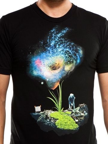 Imaginary foundation T-Shirt Wow its like a black whole flower