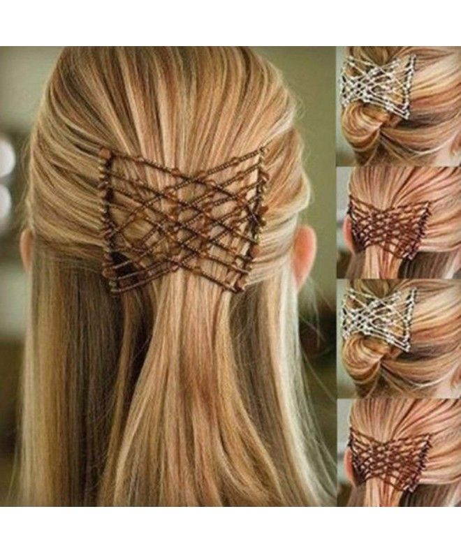 Stretch Beading Comb Double Accessories Coffee C718hkd27o6 Hair Comb Clips Hair Styles Butterfly Hair