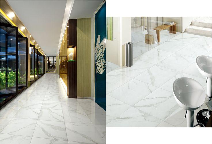 CALACATTA WHITE NATURAL 45x45   Tile Warehouse >$50
