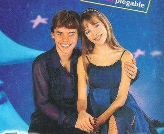 Luisana y Bauti en Chiquititas 2000