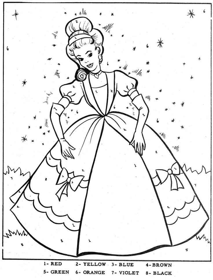 50 best coloring cinderella images on Pinterest  Cinderella
