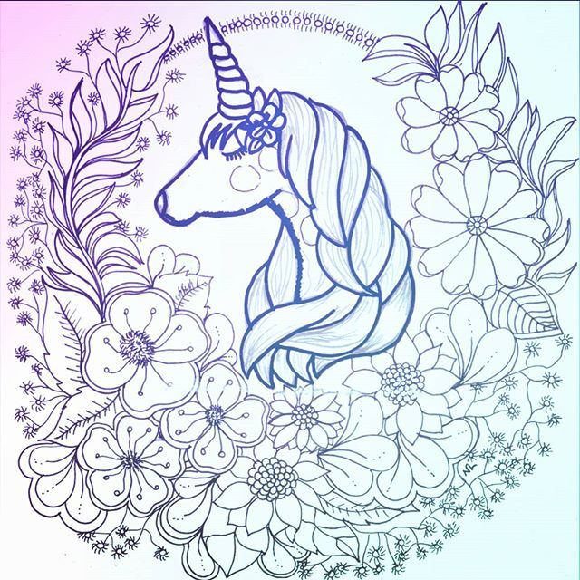 Nathalia Lodi No Instagram Unicorn Art Art Prints Moose Art