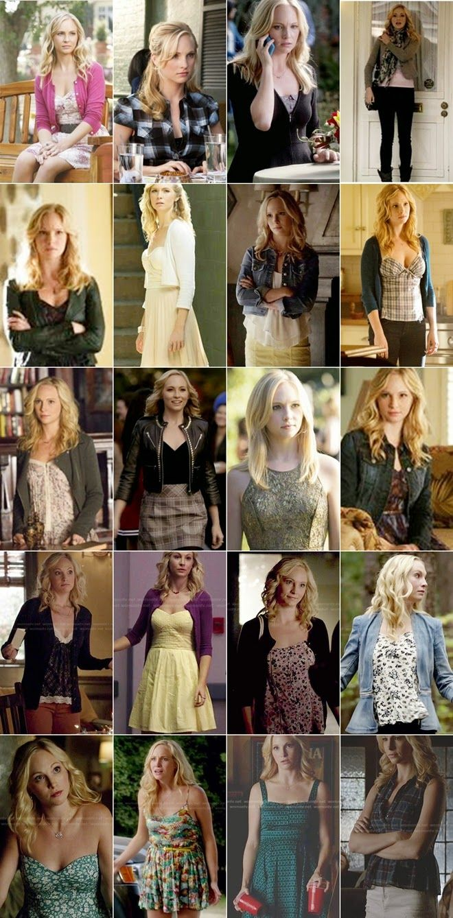 Character Fashion - Caroline Forbes -The Vampire Diaries ...Outfits worn Caroline in Vampire Diaries