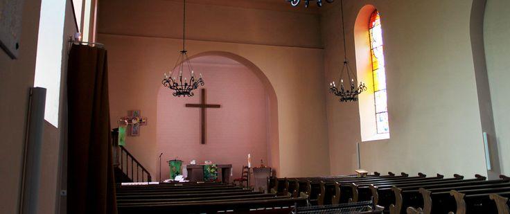 Coeur de l'Église Protestante de Schweighouse-sur-Moder