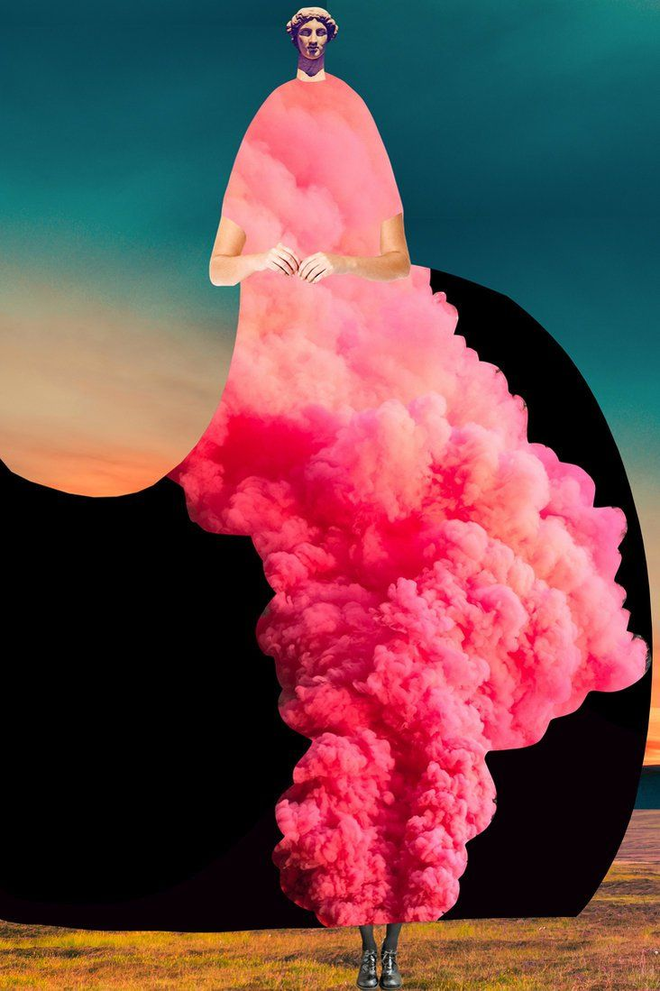 Johanna Goodman pieces together fantastic, high fashion collages | The Fox Is Black