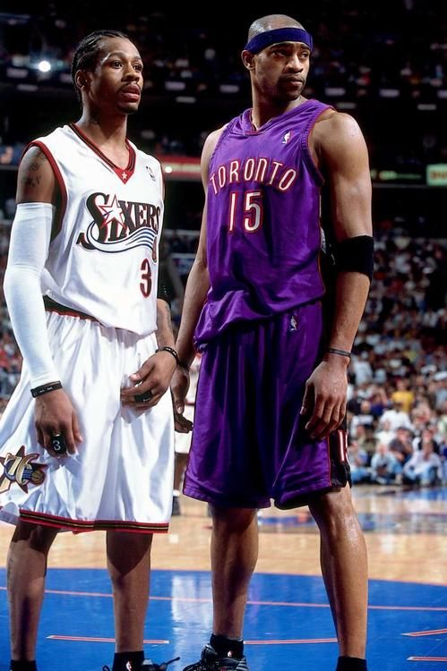 Allen Iverson vs Vince Carter, '01 East Semis. If carter didn't go to his grad on a game 7 day they whould have won the game