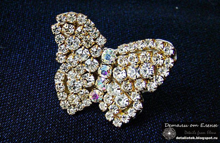 бижутерия бабочка