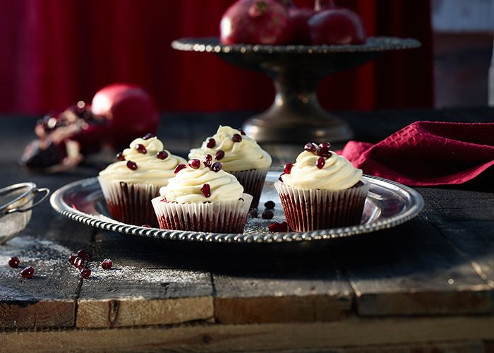 Delectable Red Velvet Cupcakes with Cream Cheese Icing