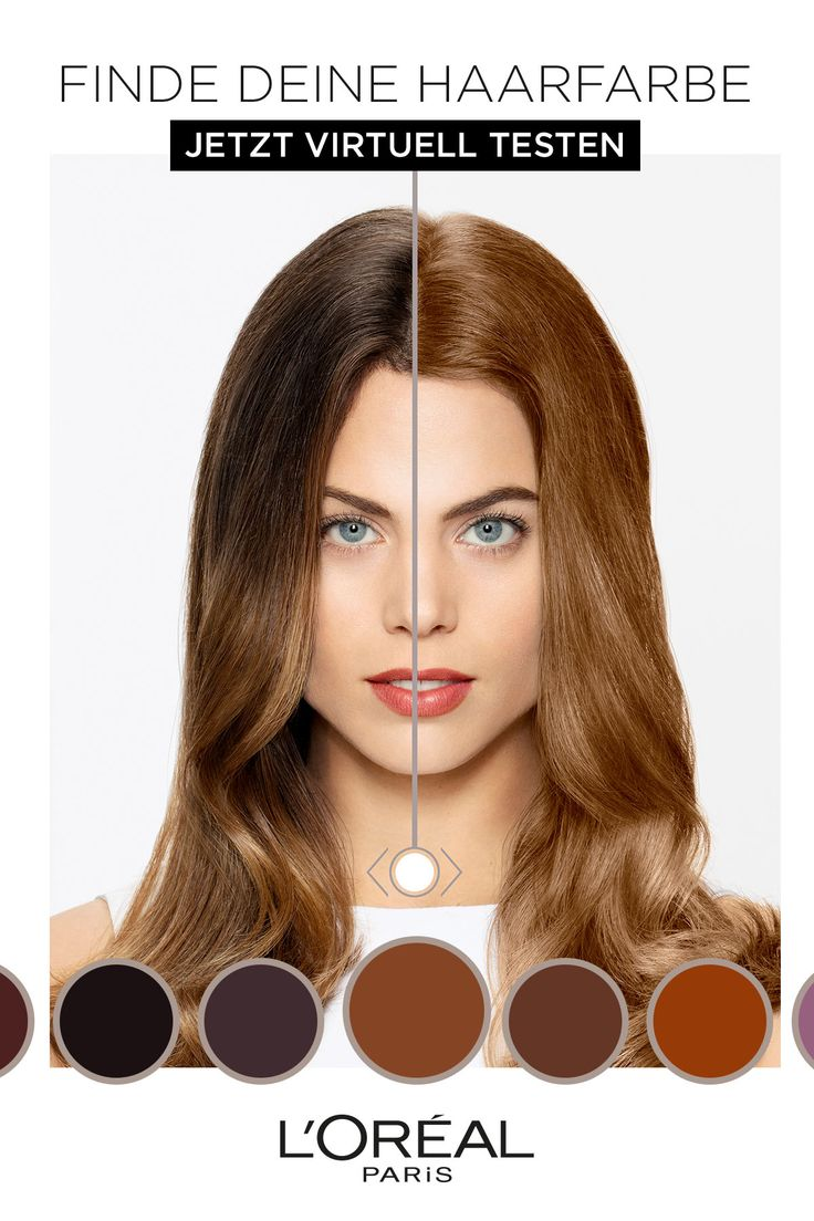 Haarfarbe ändern
