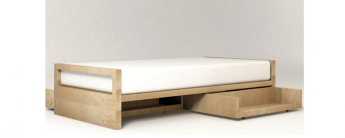 pluunk twin bed from inquisitive kid