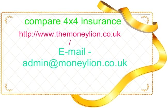 http://www.themoneylion.co.uk/insurancequotes/business/cheap4x4insurance compare 4x4 insurance