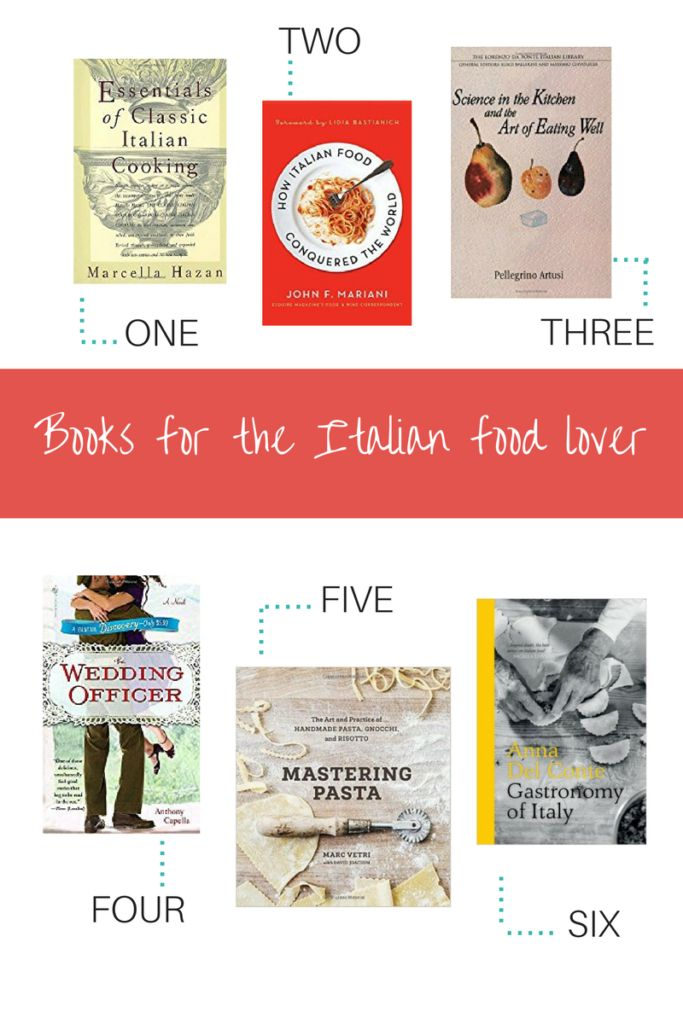Books for the Italian Food Lover