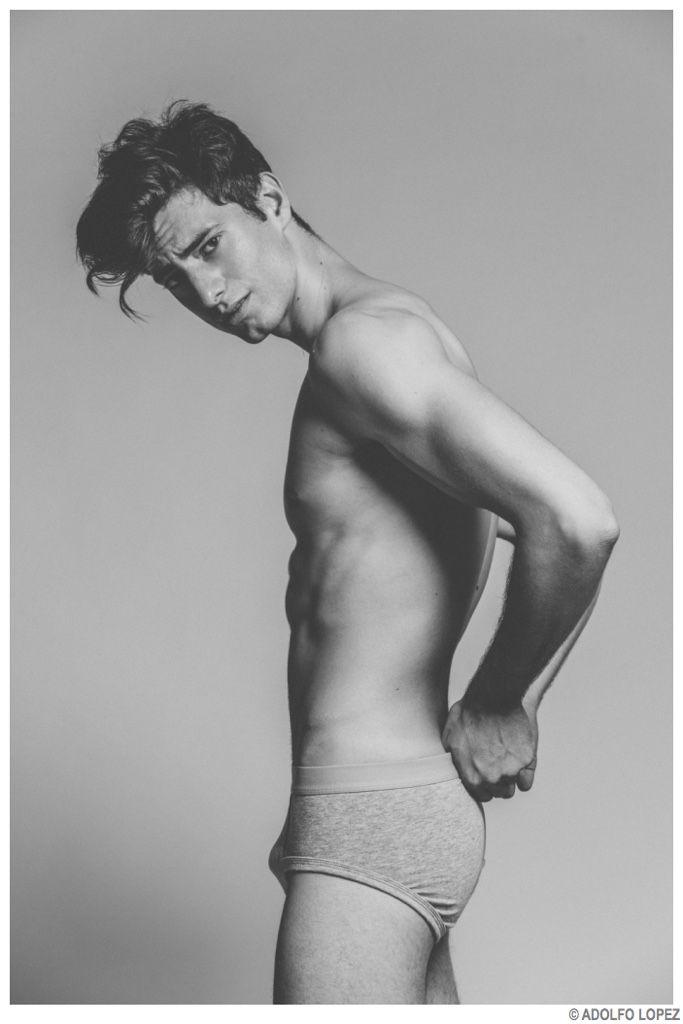 Martin Cheucos is Stripped to Basics for Images by Adolfo Lopez image Martin Chueco Model 2014 Photo Shoot 006