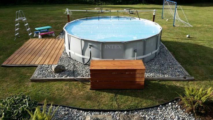 Above ground pool ideas 353 pinterest for Above ground pool cover ideas
