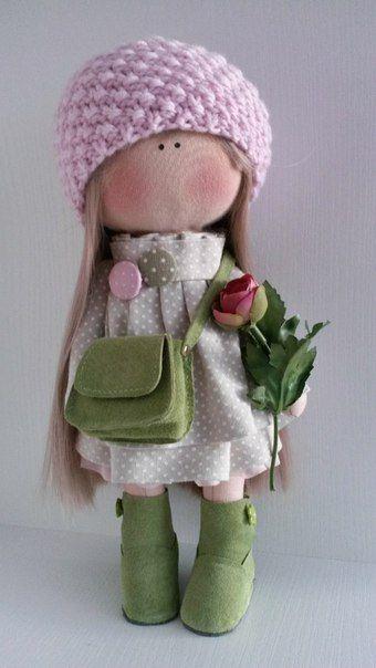 Куклы ручной работы от Ирины Строминовой                                                                                                                                                      Más