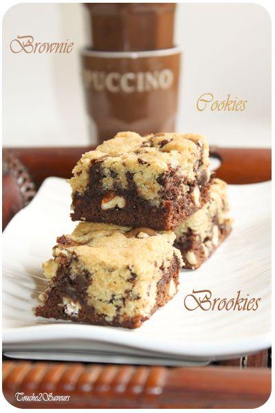 Les brookies... parfait pour finir le pique-nique sur une douce note sucrée #brookies #dessert #yummy