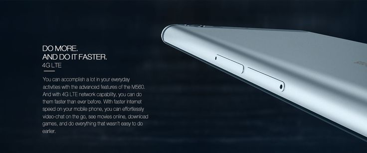 Infocus M560 4G Smartphone   Android 5.1 MTK6753 64bit Octa Core 1.3GHz 2GB RAM…