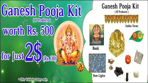 Special Offer Ganesh PujaKits for Just $2 (10 products)  Click here to send Online --> http://us2guntur.com/us2guntur/servlet/EnlargeServ1?category_id=10021&product_id=p076946