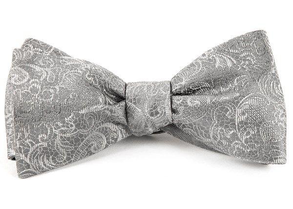 The Tie Bar Designer Paisley 100 Woven Silk Bow