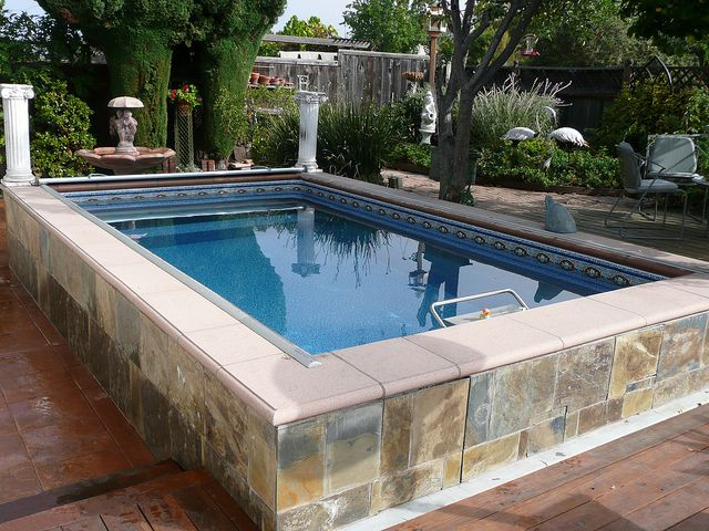 17 best images about garden swimming pools on pinterest