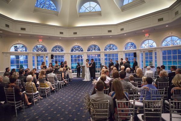 Ceremony In The Conservatory Cherry Creek Golf Club Banquet Center Terrace Pinterest Clubs And
