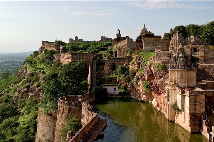 🌎India:Benteng Chittorgarh