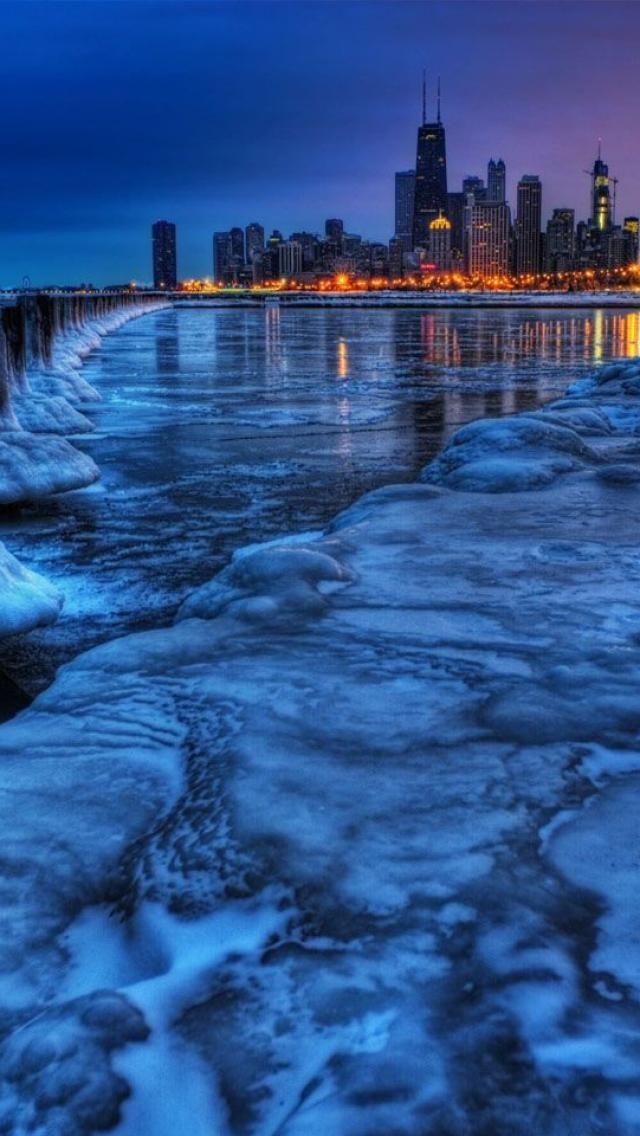 Glacier, Chicago, Illinois, USA