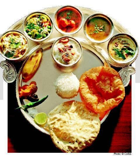 Gujrati thali,India