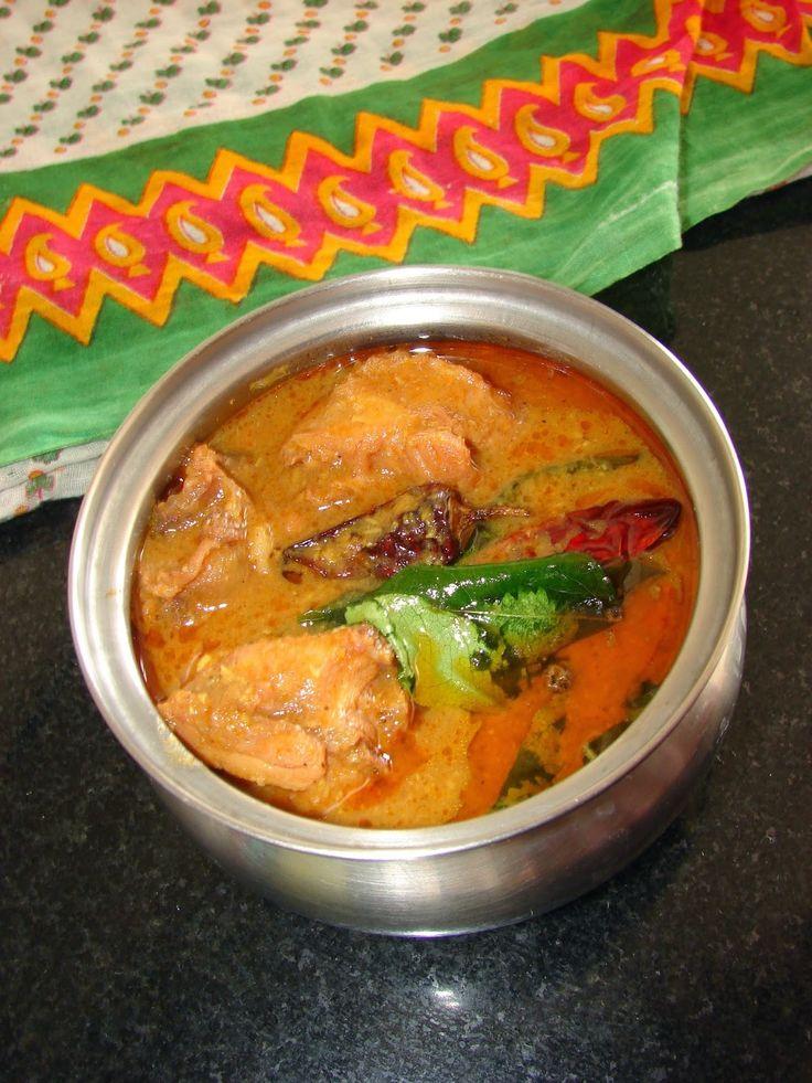 cookingcrest - non veg: Mutton kuzhambu without coconut | Traditional mutt...