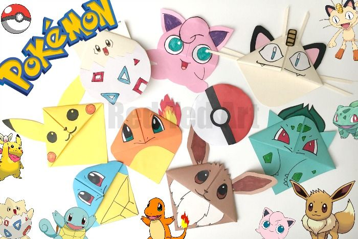 Pokemon mania continues.. and if my kids (aged 6 and 8) are anything to go by, you kids will LOVE them. My son, is Pokemon Go MAD.. my daughter is indifferent to Pokemon Go, but STILL adores making these Pokemon Bookmark Corners. We have taken 9 of the most popular Pokemon Characters and we have …