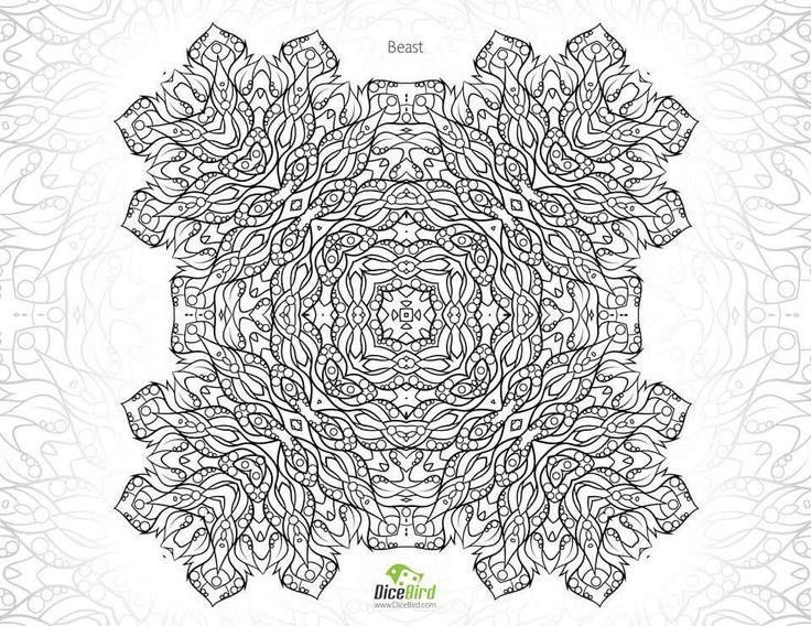 126 Besten Mandala Coloring Bilder Auf Pinterest