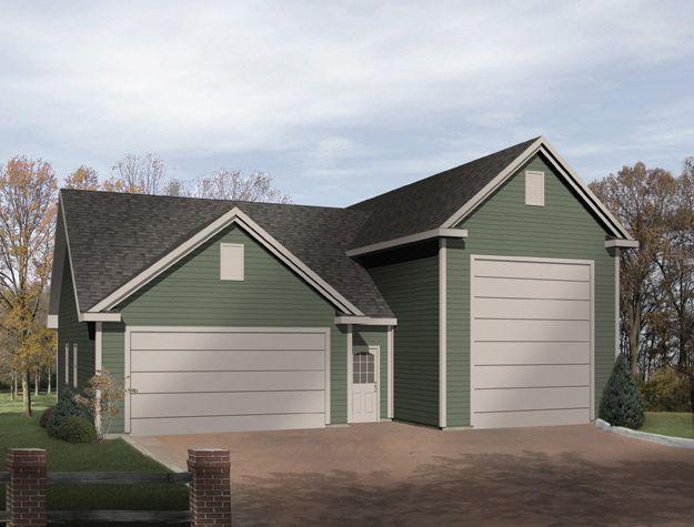 18 best breezeway images on pinterest for 2 bay garage with loft