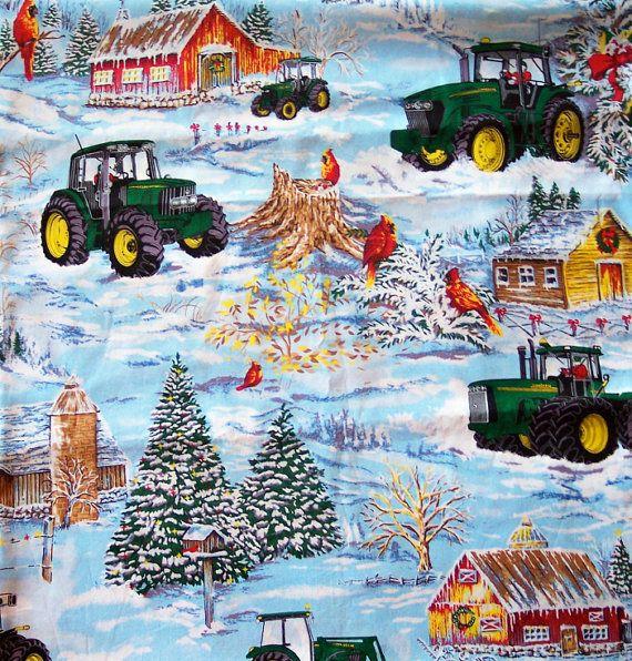 Custom Order For Jenniferd74 JOHN DEERE Fabrics