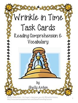 A Wrinkle in Time Scholastic reading guide | 4th Grade ...