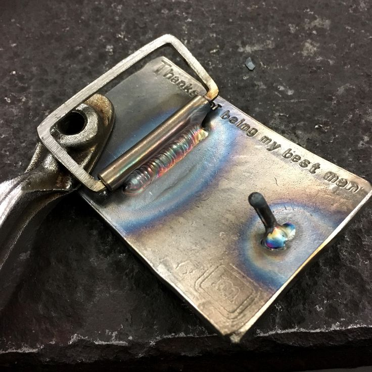 Gps Tracking Devices For Cars >> Tig welding a custom stainless steel buckle #handmade # ...