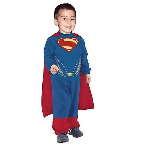 Superman of Steel - Toddler Size 1-2 Years