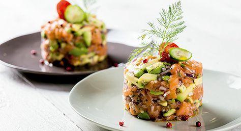 Tártaro de salmão com abacate - Lidl Portugal