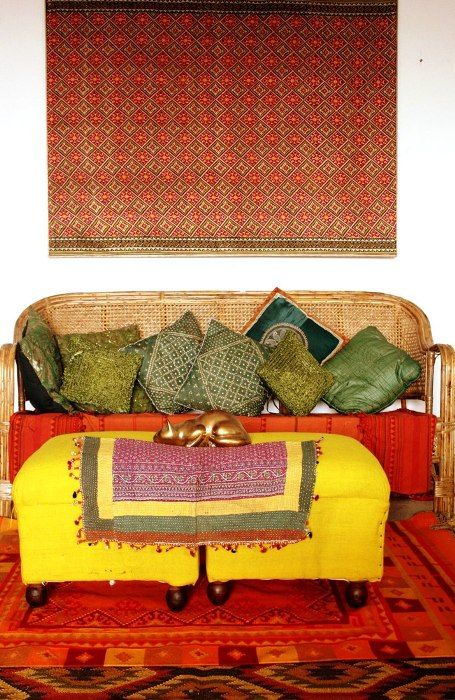 Indian interiors by Shivani Dogra featured on The High Boy
