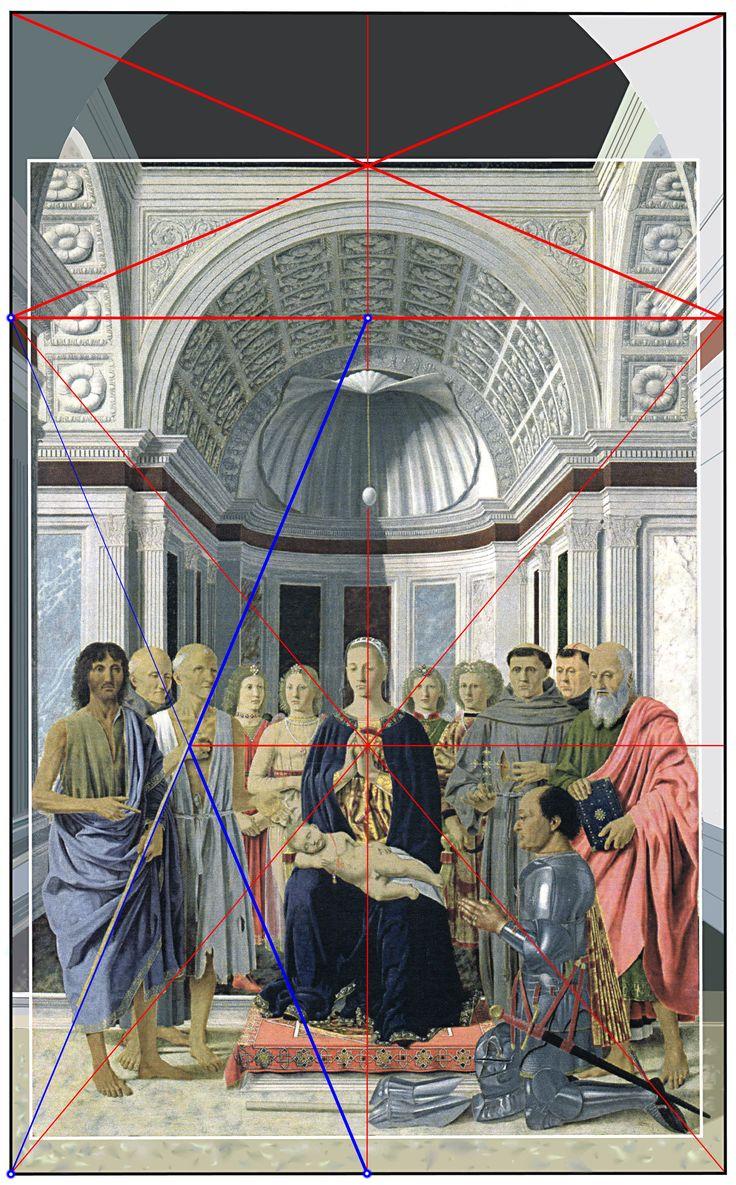 Piero della Francesca, The Brera Madonna - the Pala di Brera - the Montefeltro Altarpiece - Brera Altarpiece, Pinacoteca di Brera, Milan. Brera National Gallery. Giorgioppi 2008.