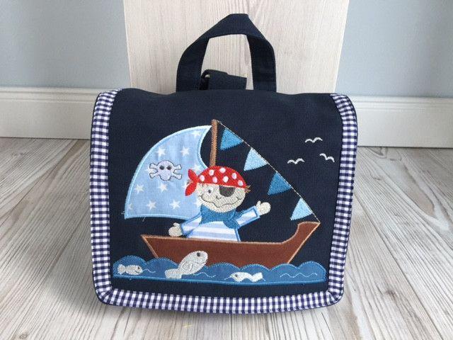 Kindergartentaschen - Multifunktionale Kindertasche -  Pirat!  - ein Designerstück von Goldfisch17 bei DaWanda
