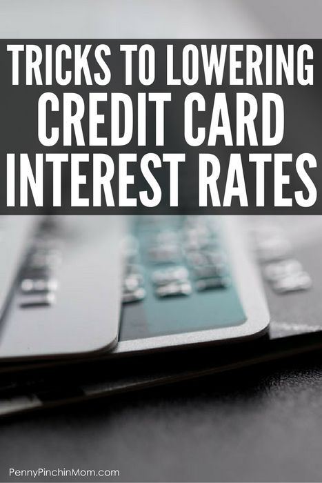 How to Get out of debt – lower credit card interest rates to save money