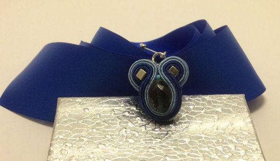 Stylish Hijab soutache pin scarf pin shawl pin by AGDesignCreatif