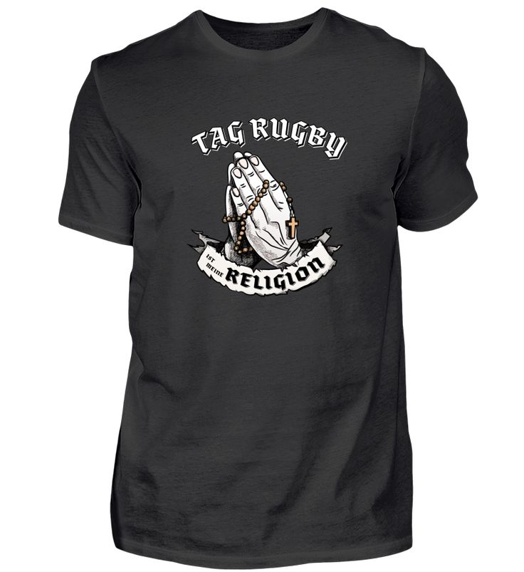 Tag-Rugby Religion - Geschenk T-Shirt