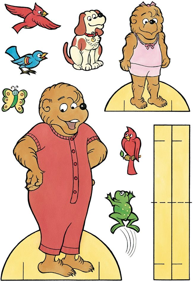 berenstain bears paper dolls3