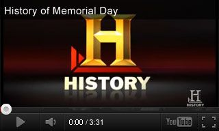 Educational Video: History of Memorial Day http://www.teachervision.fen.com/memorial-day/video/73217.html Learn about the origins and traditions of Memorial Day—originally known as Decoration Day. Today, Memorial Day honors all American soldiers who died in battle, as far back as the Revolutionary War. It's paired with three educational activities for grades 6-8.
