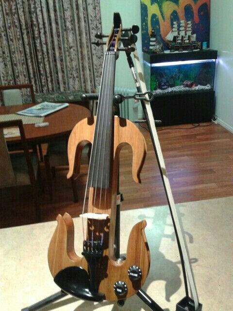 Finished! Five string electric violin - m collins bundaberg qld Australia.
